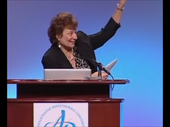 Hire Sandy to EMCEE Your Conference!