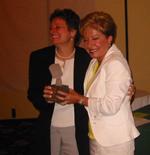 Sandy Geroux awards